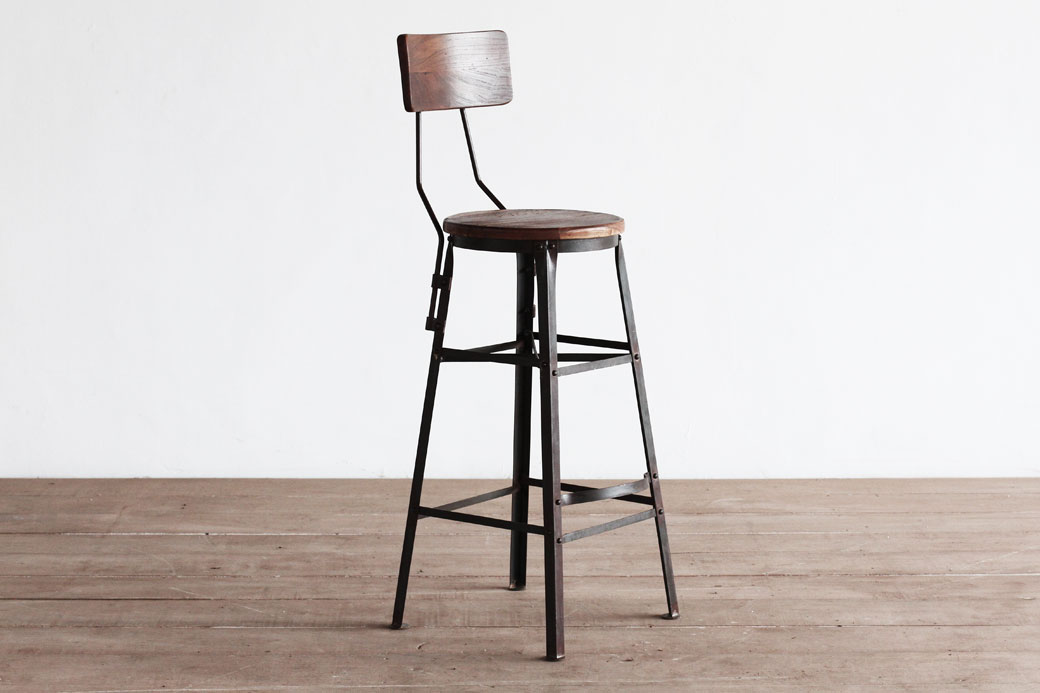 Scaffold Stools w/ Back
