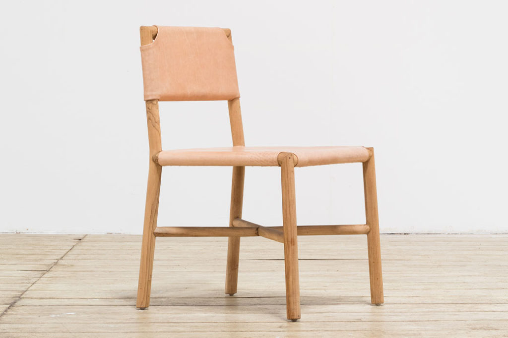 Chair Seed Flat Leather